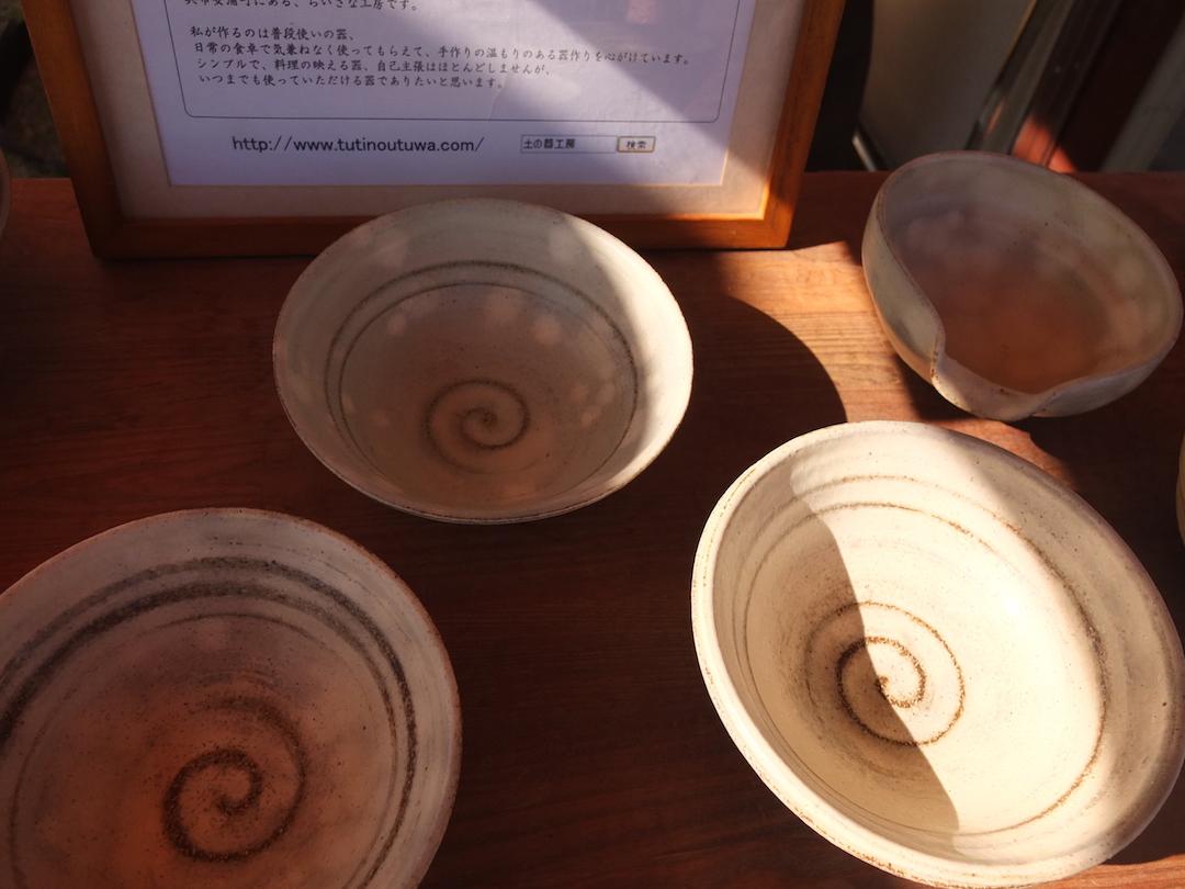 Creema Craft Caravan(クリーマ)in尾道,土の器工房