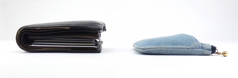 二つ折り財布とミニ財布