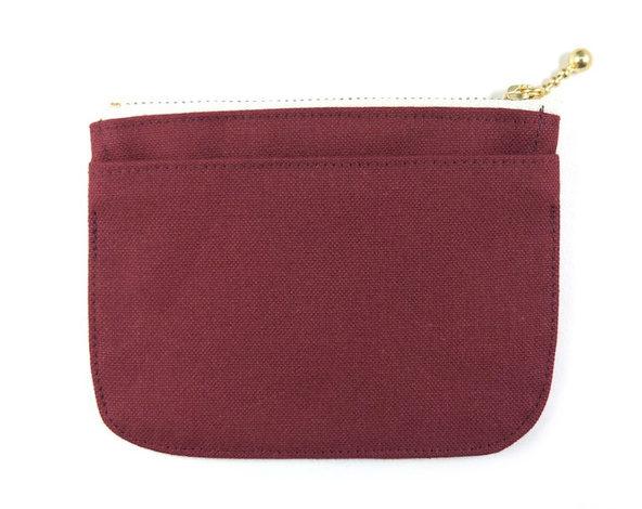 帆布のミニ財布