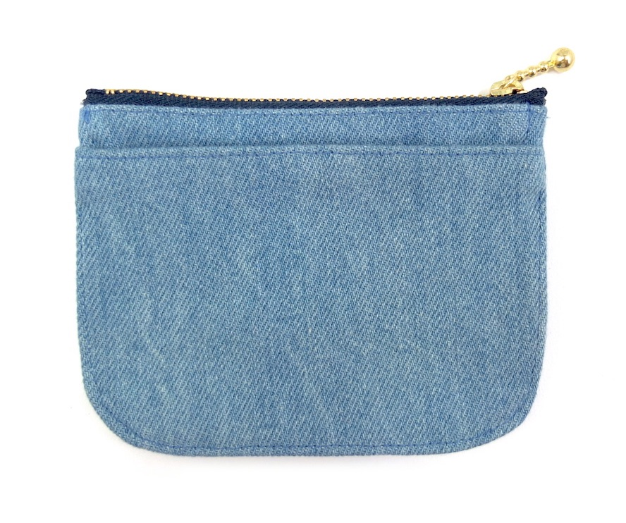 デニムのミニ財布