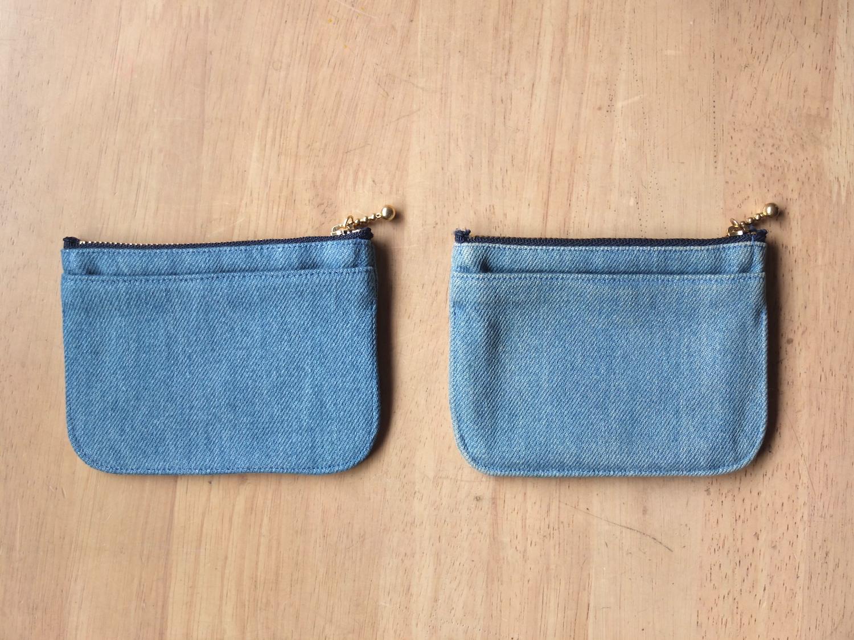 経年変化もこのミニ財布の魅力です