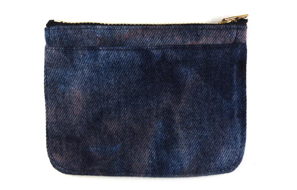 デニムの限定ミニ財布