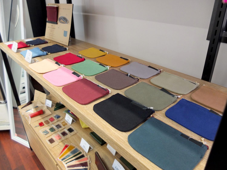 倉敷帆布のミニ財布