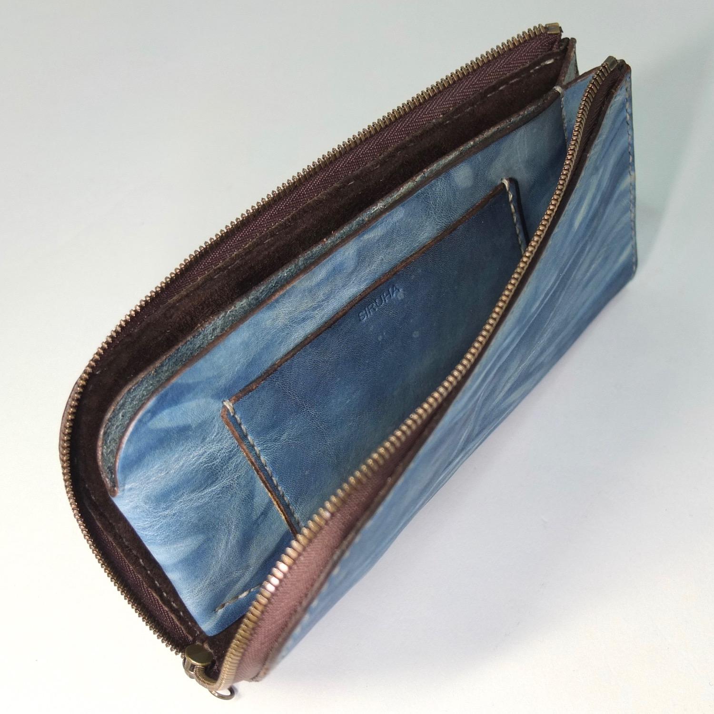 L字ファスナーの長財布のカードポケット2