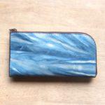 L字ファスナーの長財布を作りました。