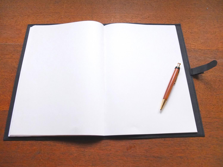 文房具 ノートのおすすめはa4無地の 考えることに集中できる