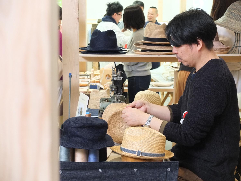 石田製帽の石田勝士さん