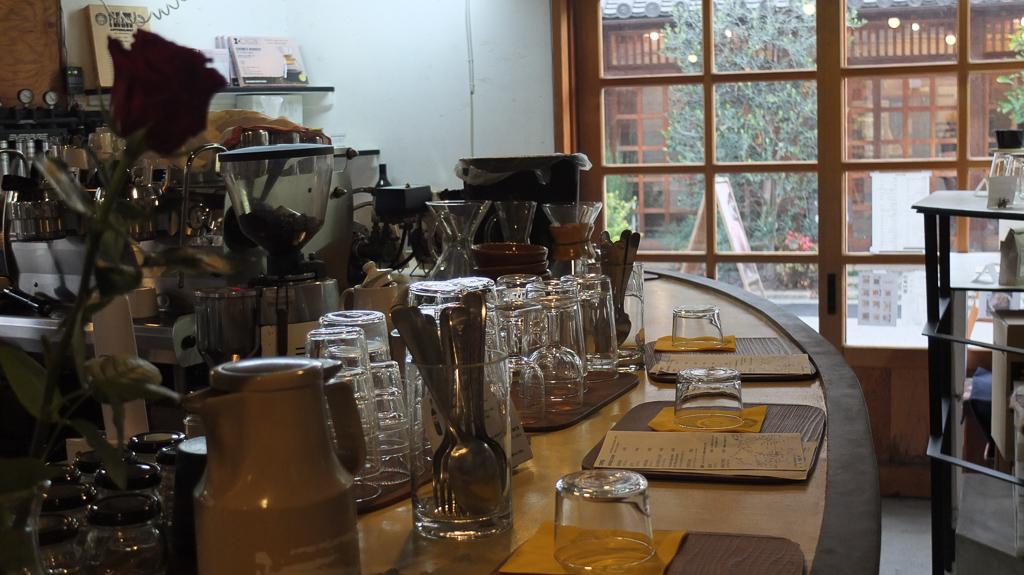 Cafe Gewa(カフェゲバ)カウンター