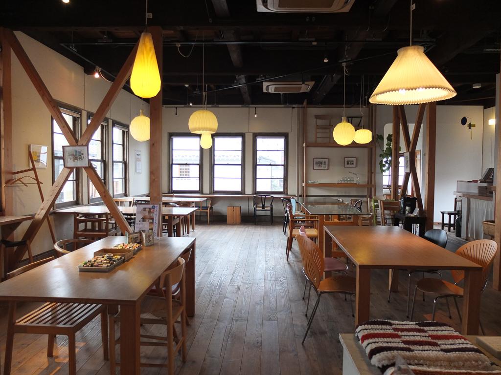 shop & cafe 三宅商店のカフェ