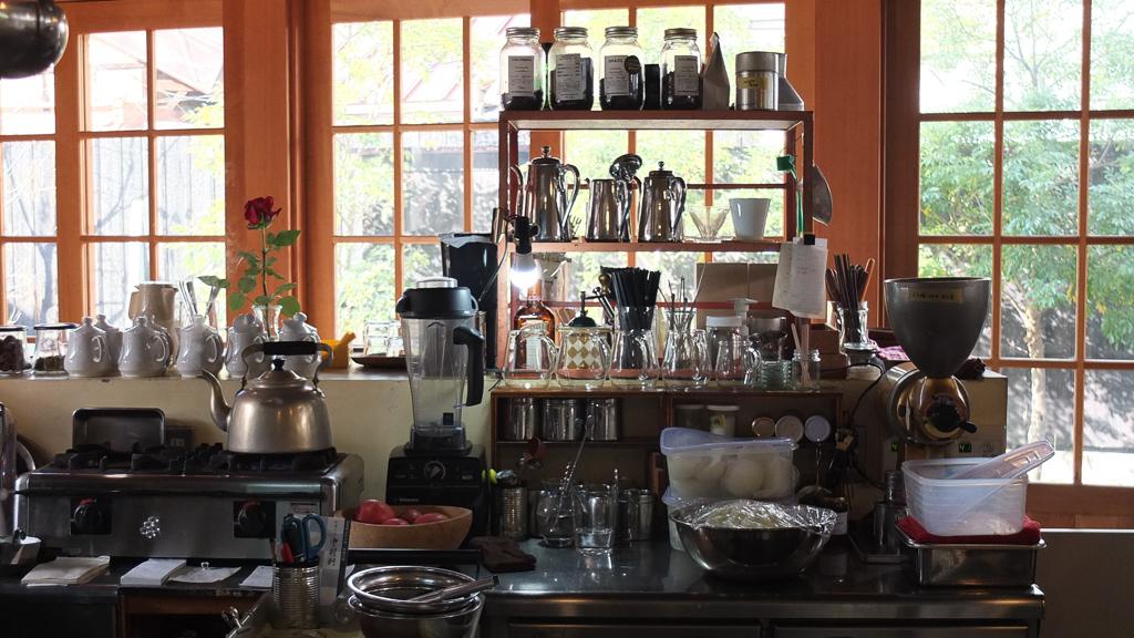 Cafe Gewa(カフェゲバ)厨房