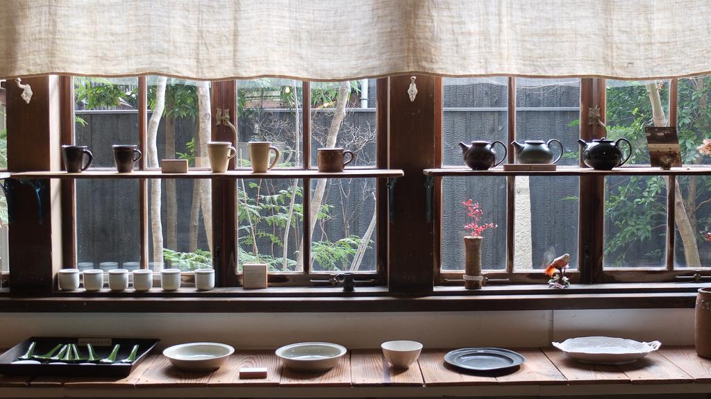 倉敷意匠アチブランチの陶器