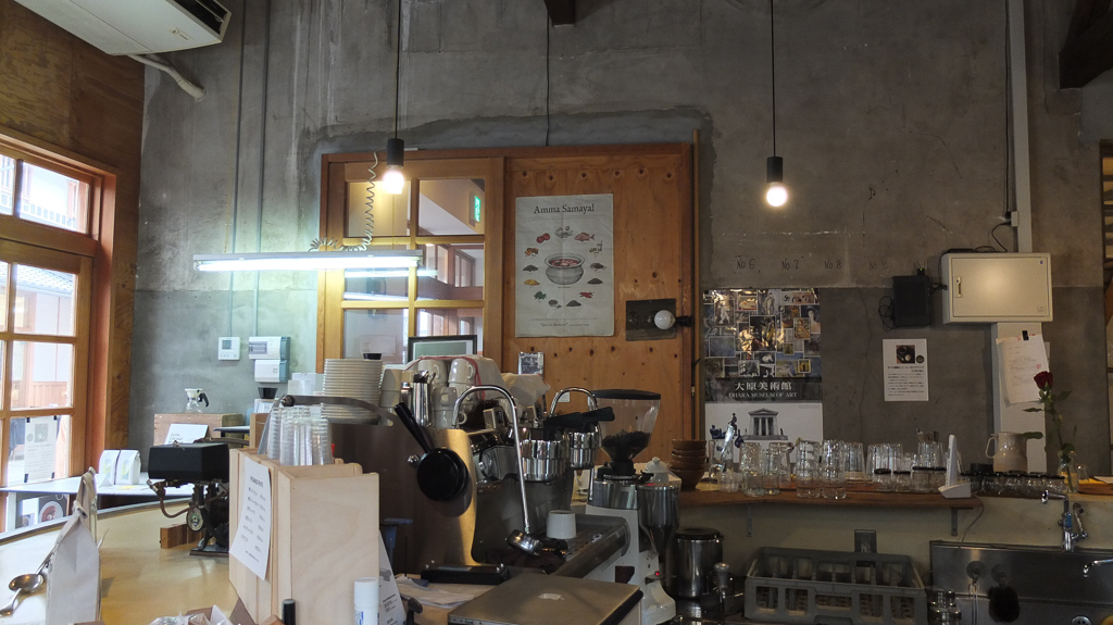Cafe Gewa(カフェゲバ)のお洒落な店内